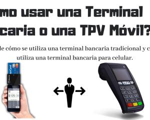 como utilizar una terminal bancaria