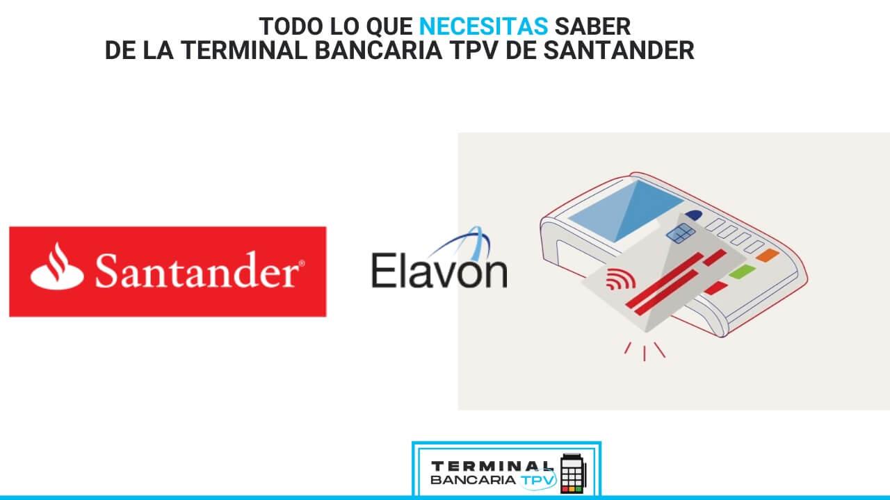 terminal punto de venta Santander