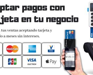 como aceptar pagos con tarjeta en tu negocio