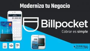 terminal movil Billpocket