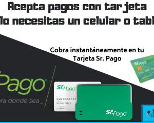 aceptar tarjetas con terminal movil sr pago