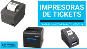 comprar la mejor impresora de tickets