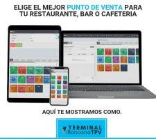 software punto de venta para restaurantes, bares y cafeterias